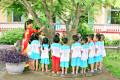 Hoạt động ngoài trời trường Mầm Non Nam Đồng