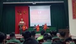 chương trình văn nghệ chúc mừng thanh niên lên đường bảo vệ  tổ quốc